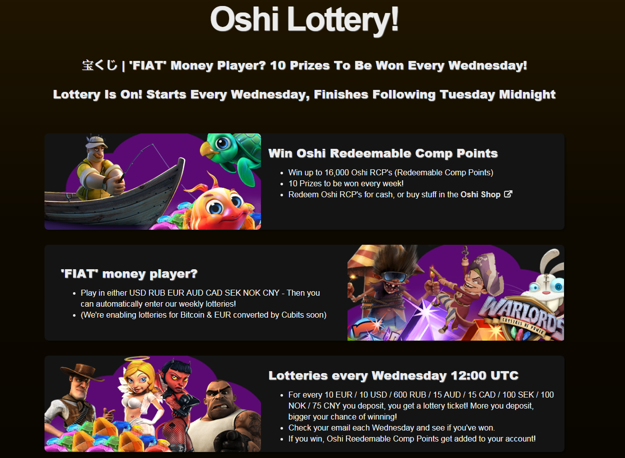 oshi casino review