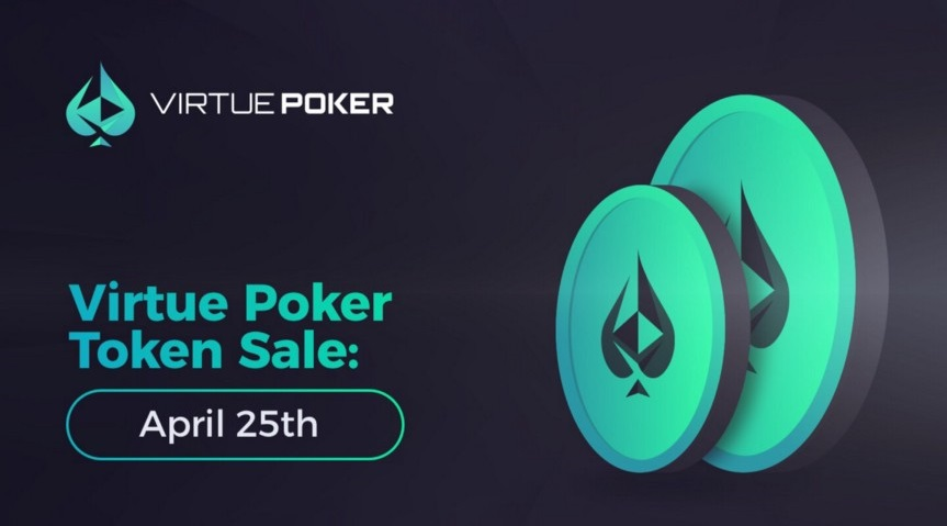 Virtue Poker Prepares for a Token Sale Event on April 25th