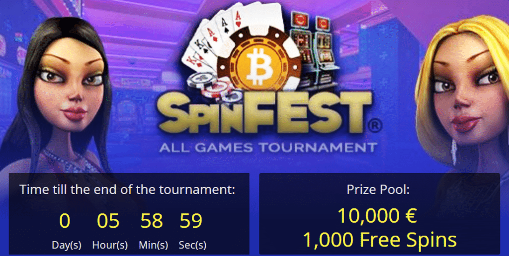 BetChain Spin Fest Tournament Promises Generous Prizes