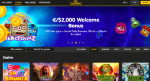 24kcasino review dashboard bitcoinplay