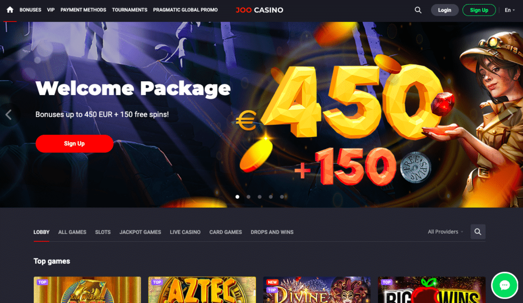 Joo Casino Review BitcoinPlay