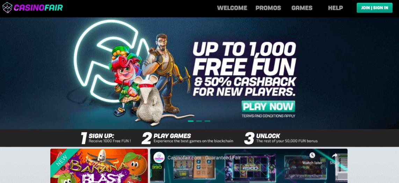 CasinoFair Dashboard