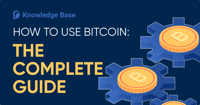 how to use bitcoin guide cover image