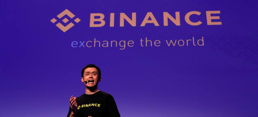 coinbase stock token binance feature image