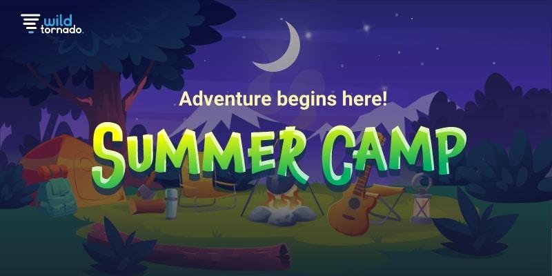 summer camp promotion at wildtornado